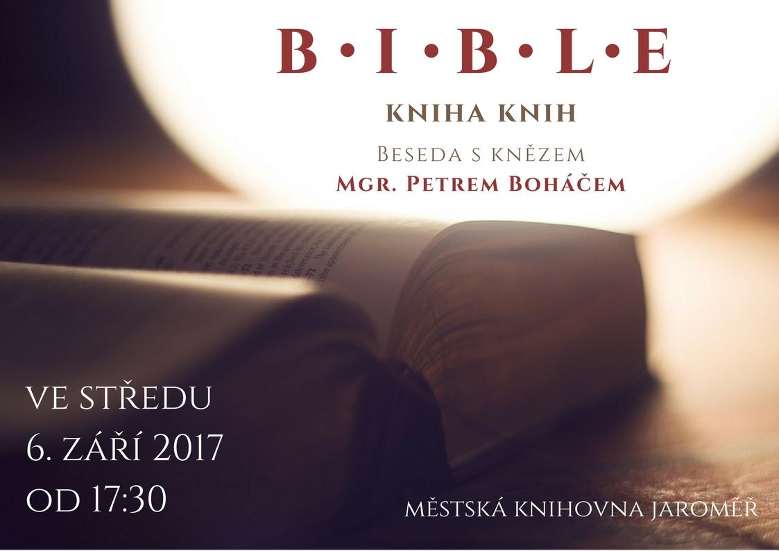 Bible – kniha knih