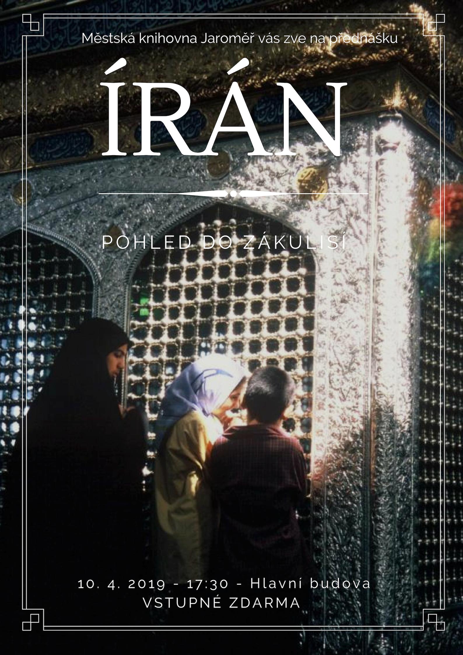 Írán – pohled do zákulisí