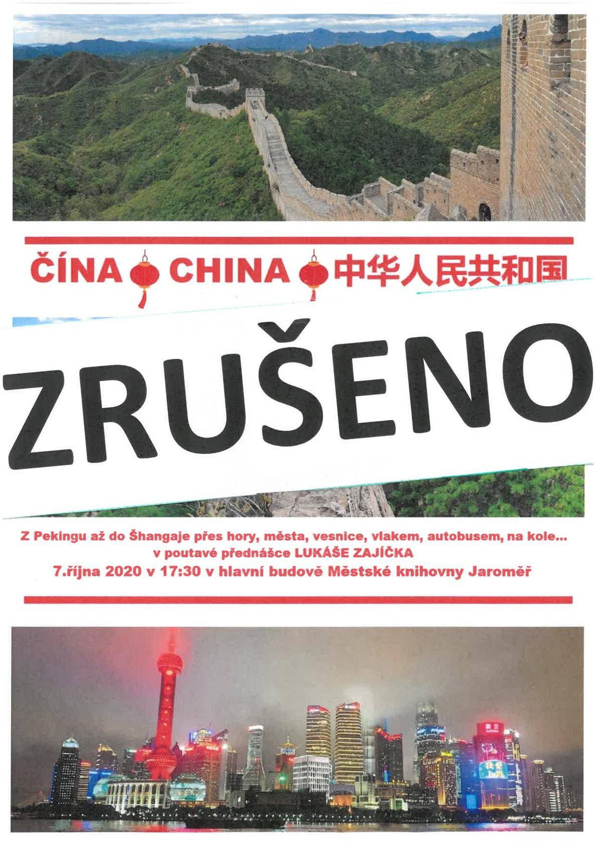 Čína – Lukáš Zajíček